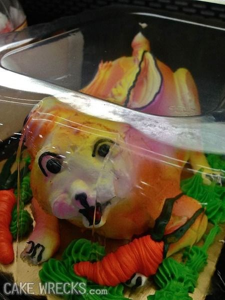 Cake Wrecks - Home - 8 Creepy Easter Cakes To Haunt YourDreams