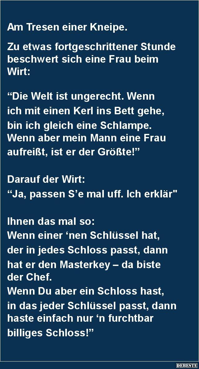 Am Tresen einer Kneipe. | DEBESTE.de, Lustige Bilder, Sprüche, Witze und Videos