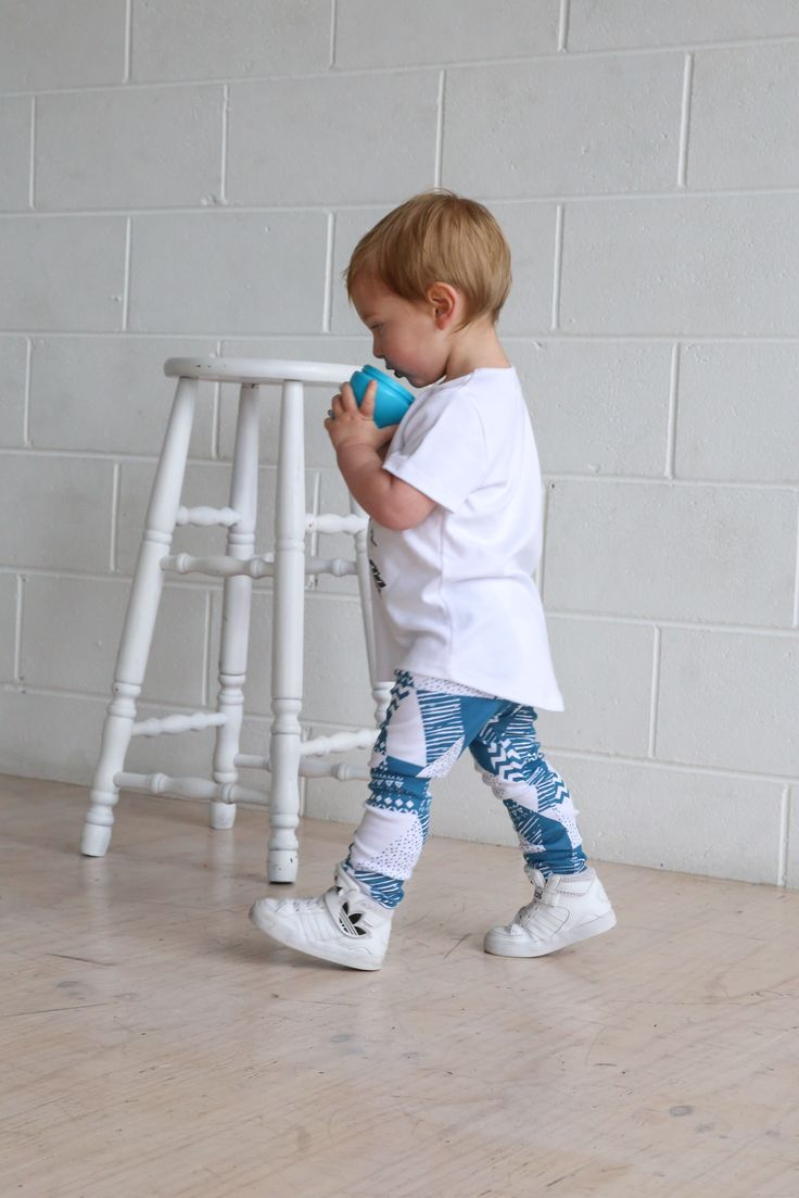 Geo print leggings. $34.95 Organic Cotton, Unisex, Ethical & 100% made in Melbourne with love.