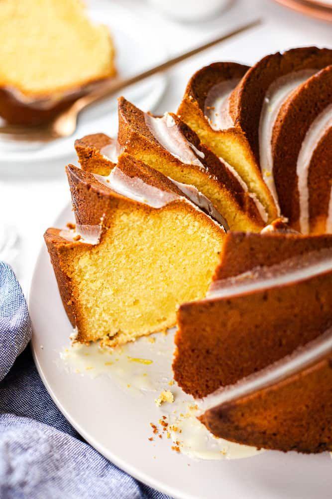 Orange Pound Cake Veronika S Kitchen Recipe In 2020 Orange Pound Cake Orange Pound Cake Recipe Dessert Recipes Easy