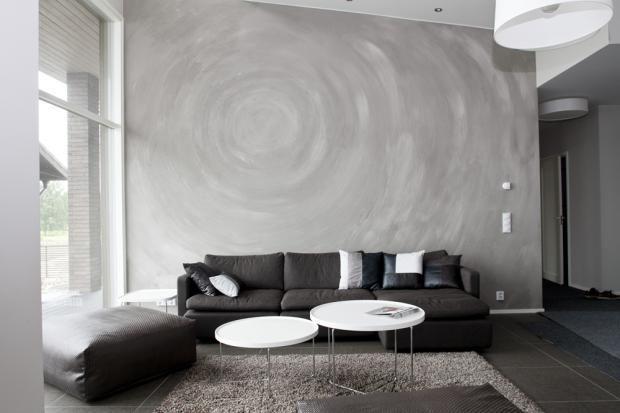 Maalattu seinä voi olla kuin taideteos @Asuntomessut Kokkolassa 2011