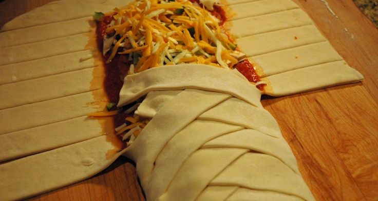 Braided Stromboli – James & Everett