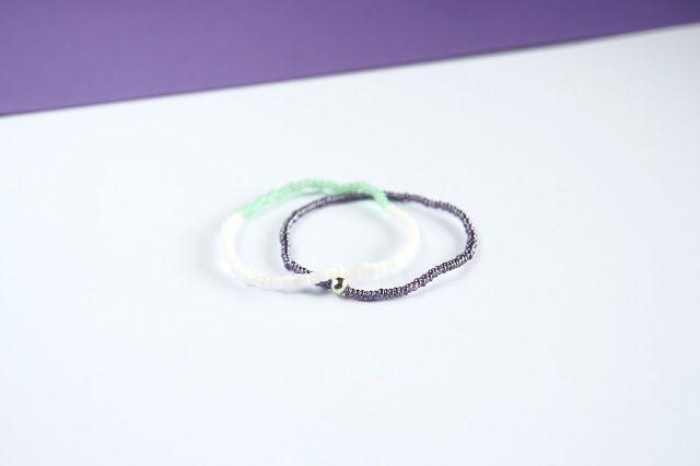 simple bracelets beads
