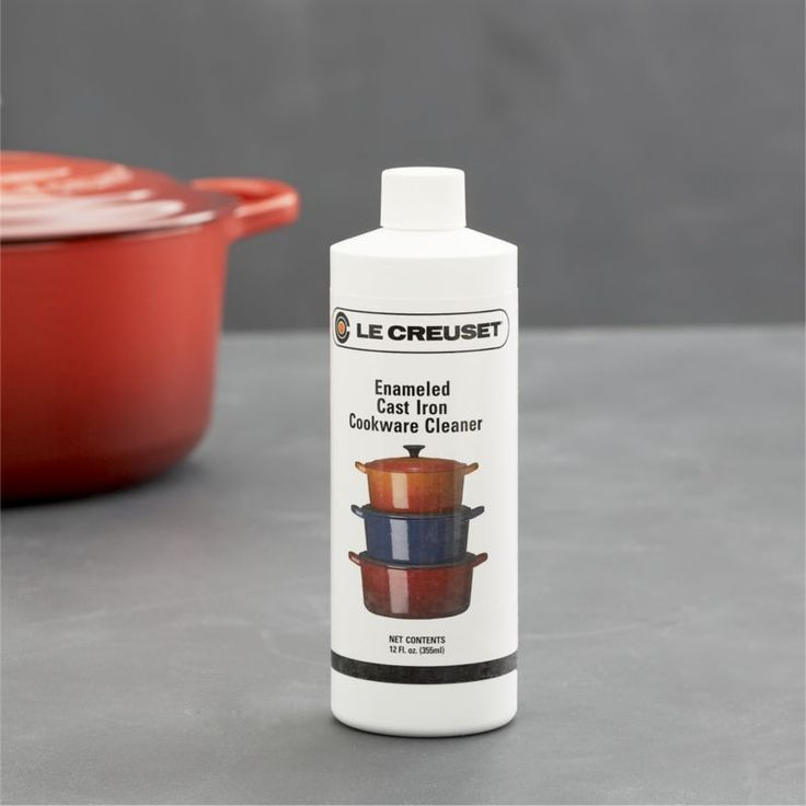 Le Creuset® Enameled Cast Iron Cookware Cleaner  | Crate and Barrel