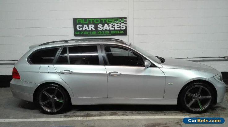 BMW 318D ES TOURING ESTATE 2006 SILVER DIESEL #bmw #318destouring #forsale #unitedkingdom