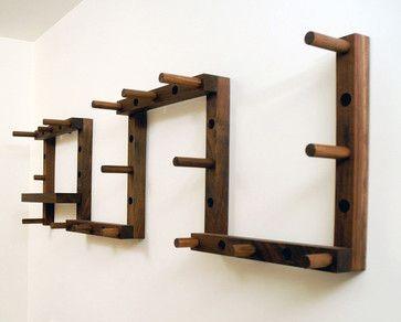 commune design wall hooks remodelista see more thru block coat rack modern hooks and hangers canoe