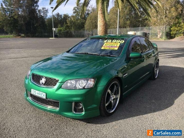 2011 Holden Commodore VE II SV6 Green Automatic 6sp A