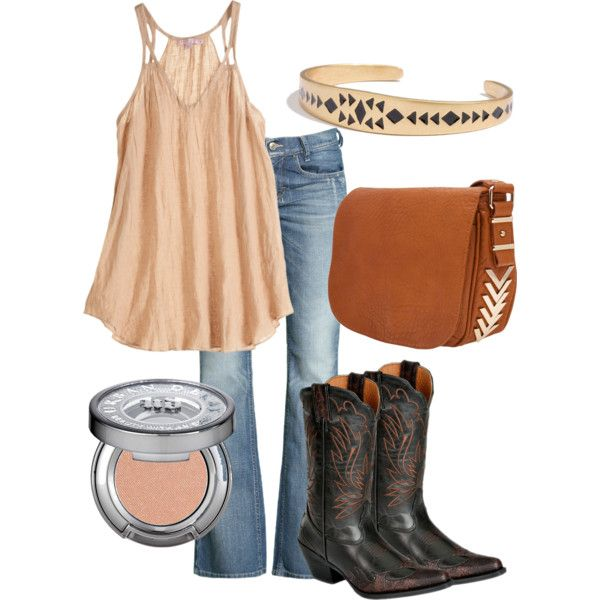 """Western"" by thecowgirlwaymagazine on Polyvore"