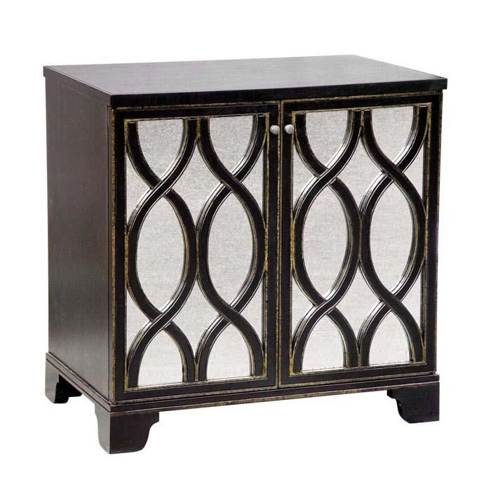 click for enlarged viewthe elisabeth bedside table is a two door bedside table with a - Oly Furniture Sale