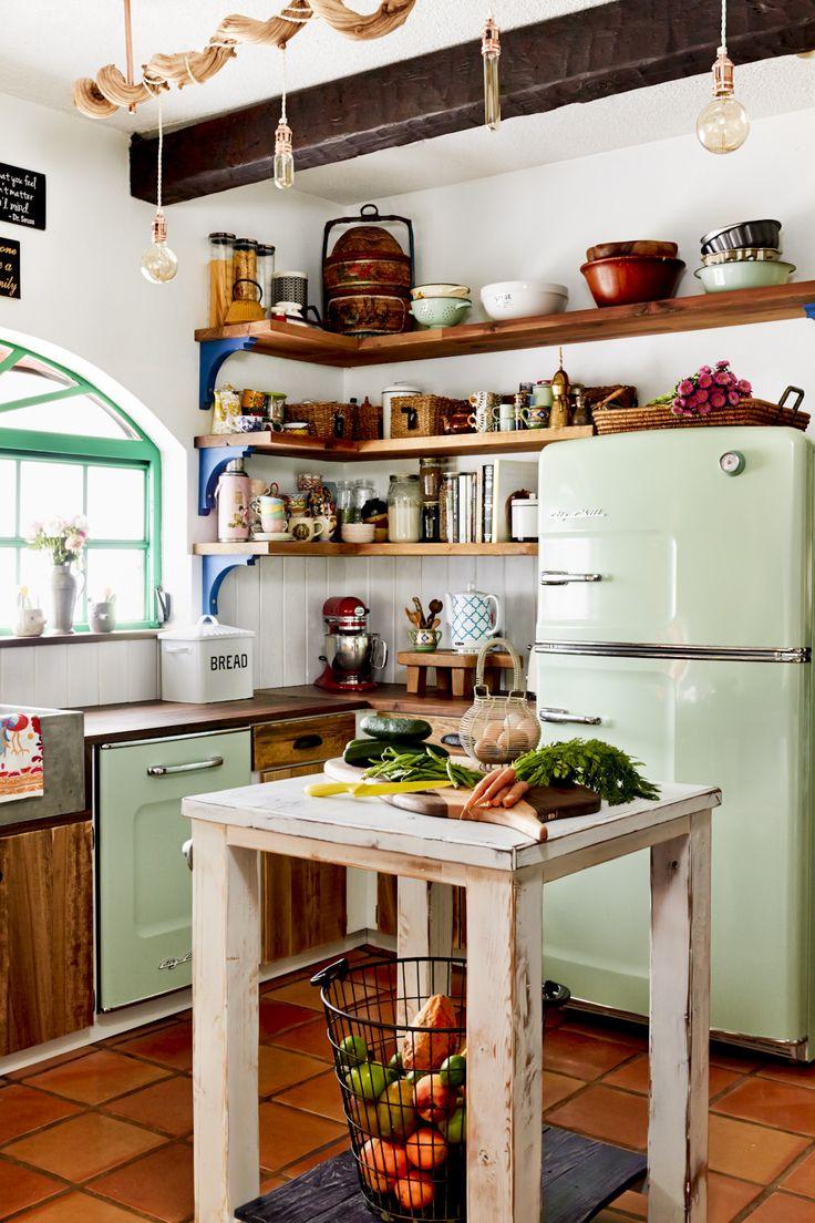 13 Retro Big Chill-Küchenlayouts, die man gesehen haben muss
