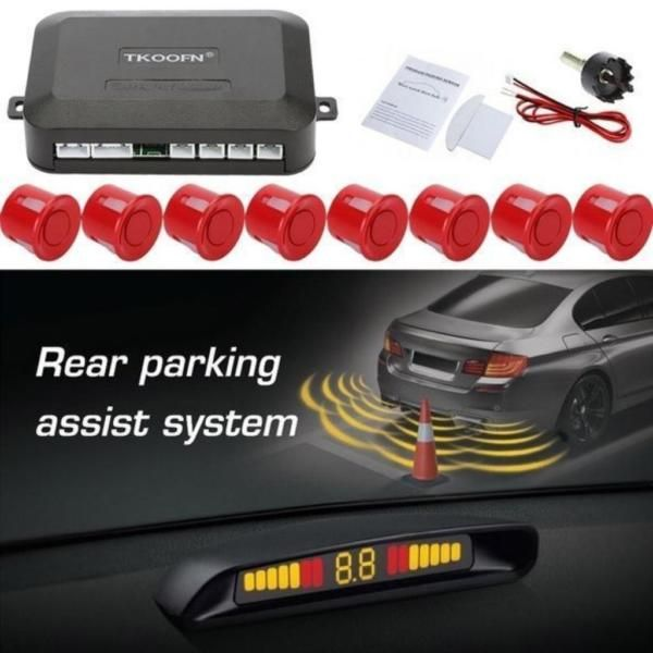 TOP Angebot!! JETZT ZUM SONDERPREIS!!!Einparkhilfe 8 Sensoren zum Nachrüsten hinten, Parkhilfe/Rückfahrwarner, PDC 10Sensoren mit Steckverbindung, Piepton, E13-PrüfzeichenTechnische Daten:Bewährtes Parkhilfe-System in der Premium Ausführung. Komplett einbaufertig und mit einzeln abkoppelbaren Sensoren, für einen schnellen und unkomplizierten Einbau in Kraftfahrzeuge.Ein Rückfahrsystem gibt Ihnen beim Parken zusätzliche Sicherheit und hilft unnötige Kratzer und Beulen zu vermeiden. Auf…