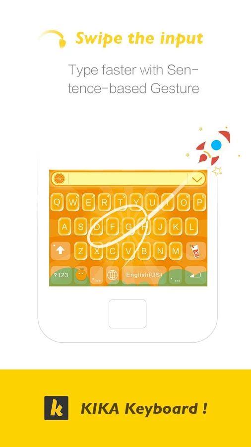 Kika Keyboard - Emoji Keyboard - screenshot