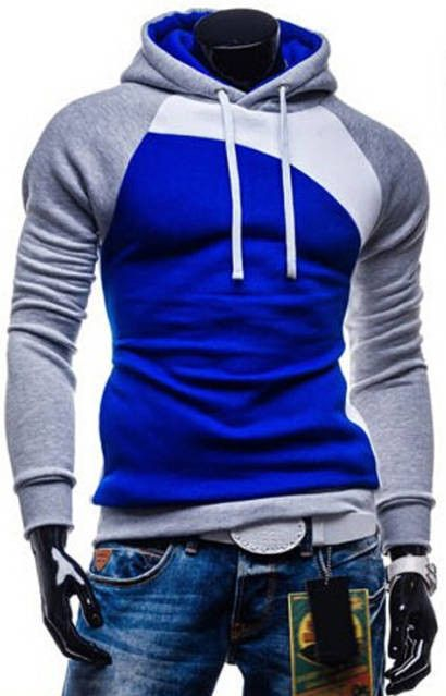 Winter New Men Hooded Coat Color Matching Sweatshirts Men's Teenagers Hoodies Cheap Suits For Men Sportswear Summer Style M-XXXL