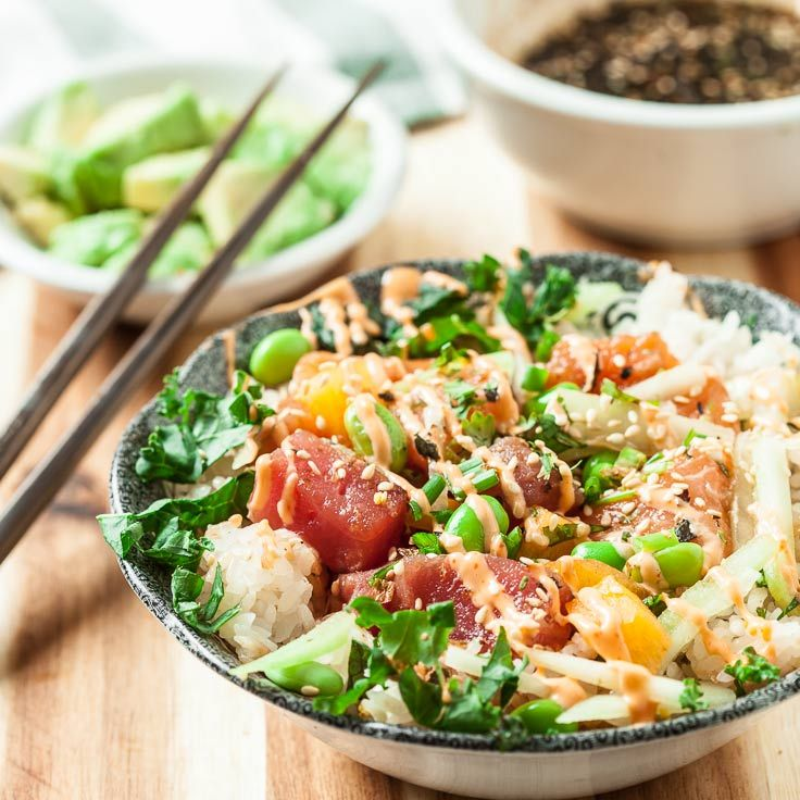 Poke shops are popping up everywhere, and for good reason. They're supremely fun to eat, full of healthy ingredients, and bursting with umami flavor.