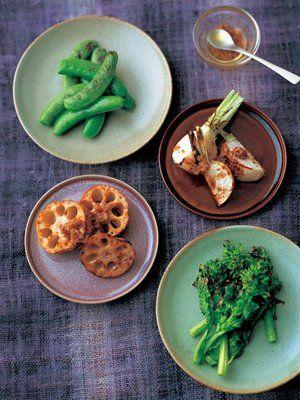 【ELLE a table】野菜のグリルレシピ「七草」シェフ/前沢リカさん