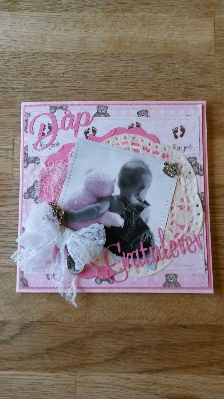 Dåpskort - bilde fra Digistamp