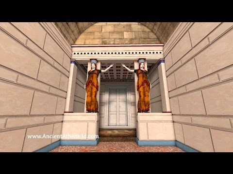 Digital 3D reconstruction of the newly discovered tomb of ancient Amphipolis in Macedonia, Greece