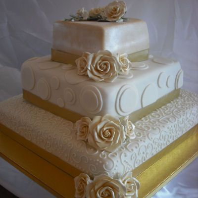 60th Wedding Anniverary Cake