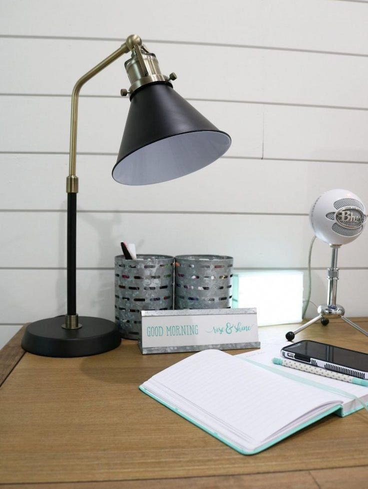 Let S Give A Warm Round Of Applause To The Newest Dynamic Duo At Ottlite The Covington Led Floor Table Lamp The Covin Led Table Lamp Table Lamp Lamp Decor