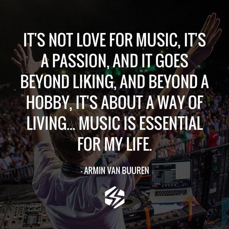 Music Changed My Life Quotes: Armin Van Buuren Trance Quotes. QuotesGram