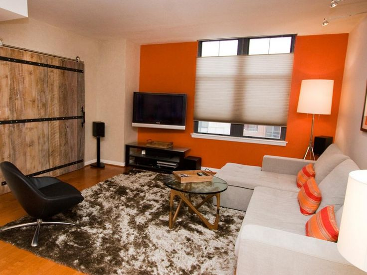 Astonishing Orange Living Room Ideas And Design Small Home As Drop