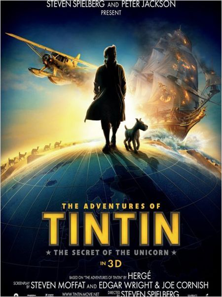 Tintin - from steven spielberg and peter jackson
