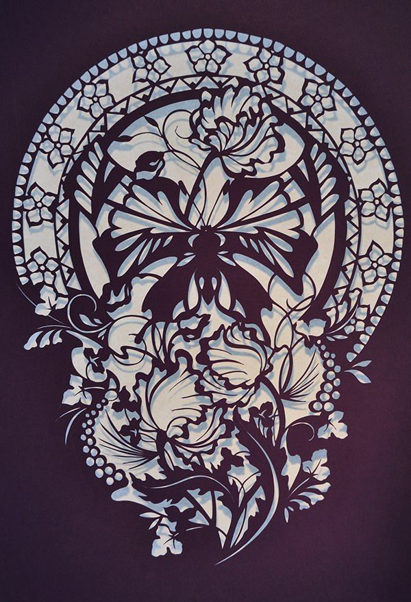 german paper cutting Sherenschnitte (pronounced sher-en-schnit-uh) is a german folk art that dates  back hundreds of years it is a paper cutting craft easily learned by beginners.