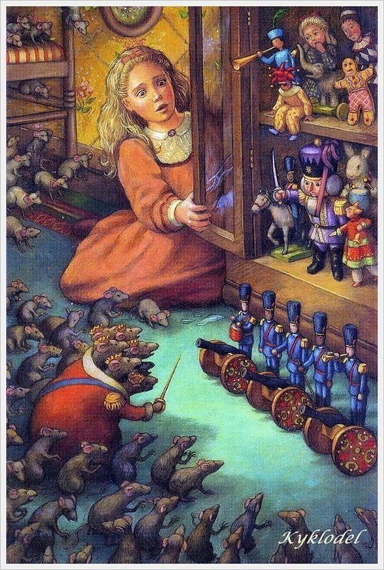 kykolnik | «Щелкунчик» в иллюстрациях... 11. Renee Graef