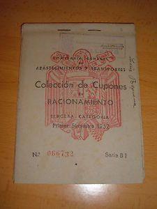 CARTILLA-DE-RACIONAMIENTO-ESPANOLA-ANO-1952
