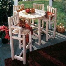 Find This Pin And More On Rustic Log Outdoor U0026 Patio Furniture.. Get Back  To Nature By Logfurnitureplc.