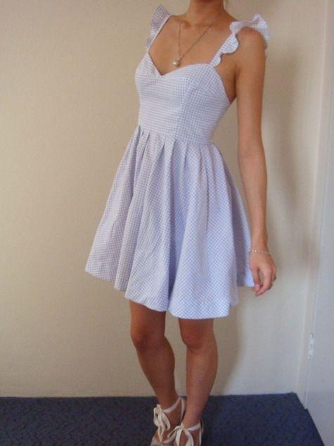 : Diy Summer Dresses, Sundresses Sewing Patterns, Sundresses Patterns, Free Dresses Patterns, Ruffles Straps, Sundresses Free, Ruffles Dresses, Free Patterns, Summer Dresses Patterns