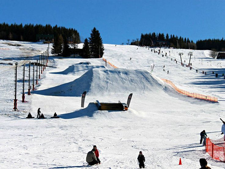 Snowpark in Czech Republic