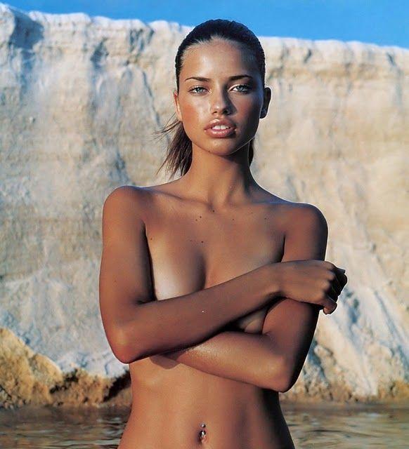 Adrianna boob tan