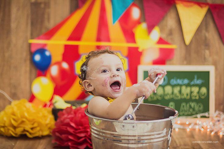 O circo do Lorenzo   Smash The Cake   Book de Gestante e Infantil, Fotografia de Família e Bebês em Curitiba