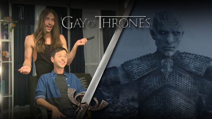 "Gay Of Thrones S5 EP 8 Recap: Hardbone with John Milhiser - Jonathan loves three things - tank tops, Caitlyn Jenner and ""Game of Thrones."""