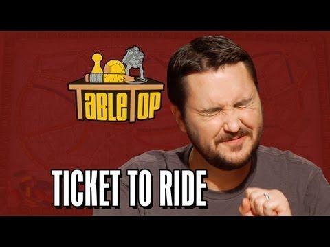 Ticket to Ride: Wil Wheaton, Colin Ferguson, Anne Wheaton, and Amy Dallen. TableTop ep. 4 - YouTube