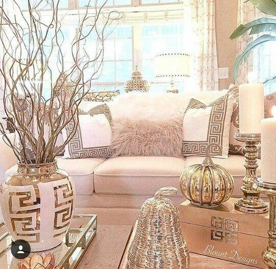 1055 besten Decoration Bilder auf Pinterest Weihnachten, Happy - wohnzimmer deko gold