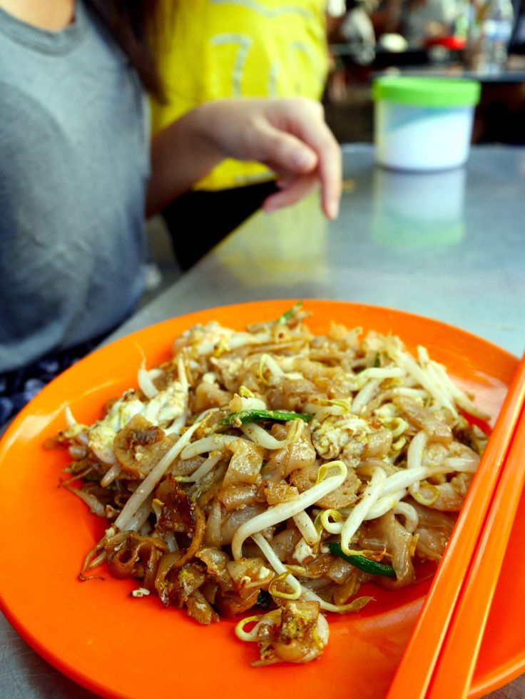 Char Kway Teow, a famous dish in Penang, Malaysia