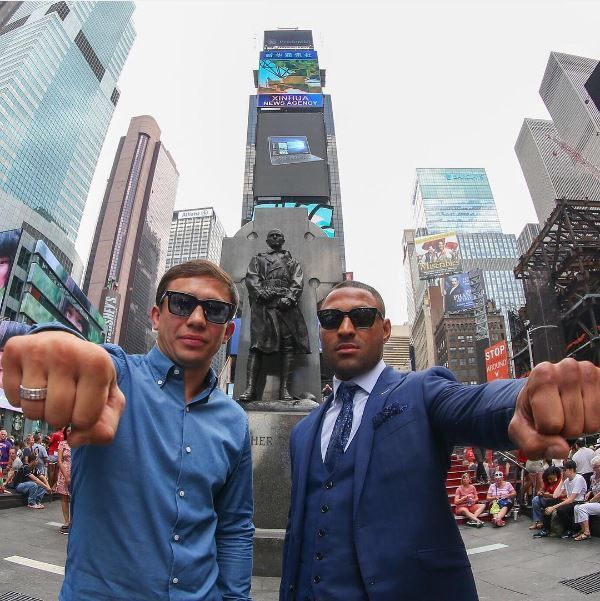 Gennady Golovkin will defend his IBF,WBC and WBA world middleweight titles against Kell Special Brook, Who'll be moving up from welterweight,where he currently holds the IBF title. The pair will battle it out @theo2london Saturday 10th September 2016  who's your money on? #gennadygolovkin #kellbrook #golovkinbrook #sheffield #boxing #poundforpound #worldchampion #matchroomboxing #karaganda #kazakhstan #ggg #goodboy #goldenboy #godofwar #globalticketsuk #eventticketseller #bestseats