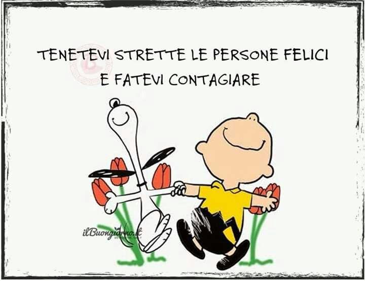 Farsi contagiare dalla felicità! :-)
