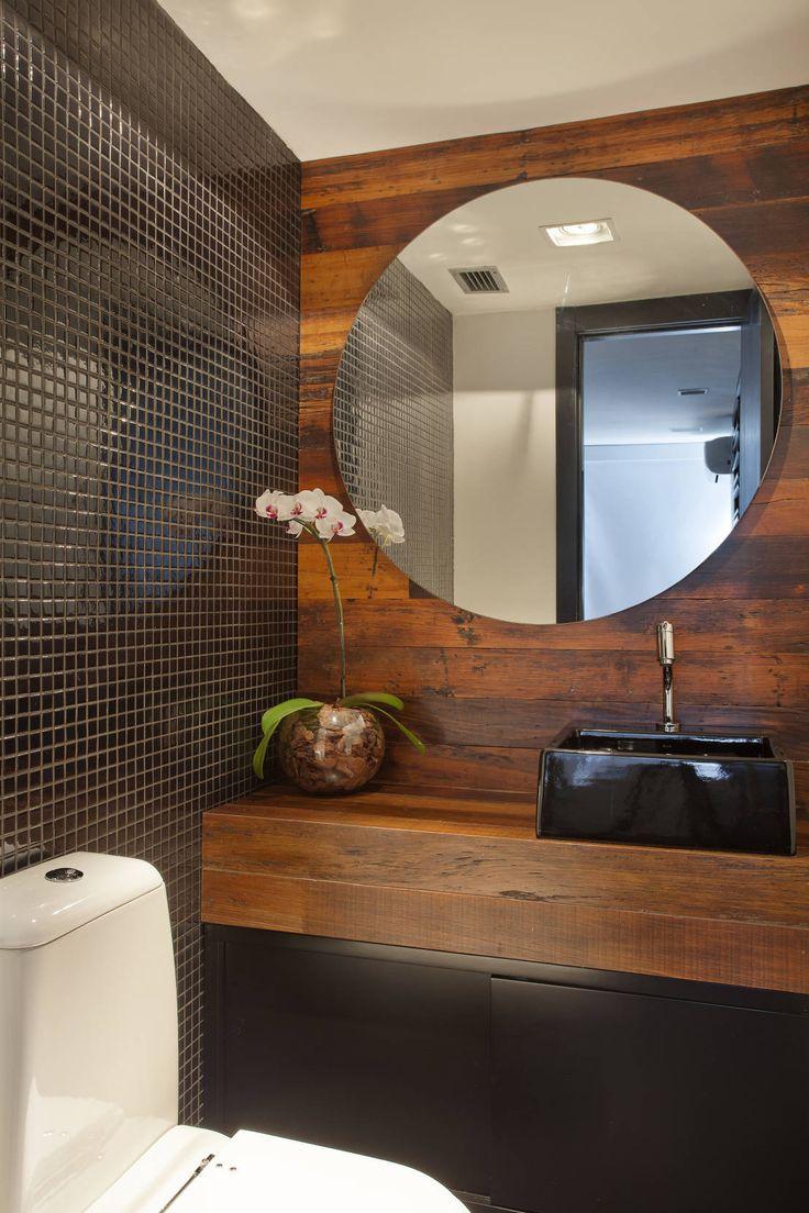 Cobertura Barra : Baños modernos de ASP Arquitetura