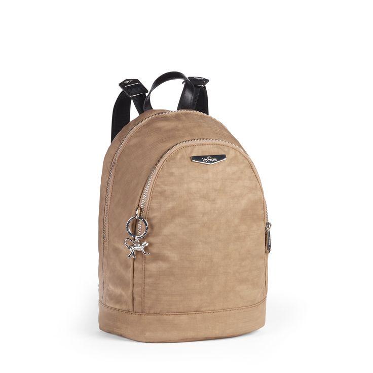 Kipling Beige Back-Pack Style Bag