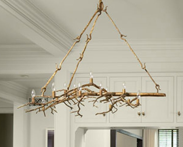 Branch Chandelier Beach Home Decor