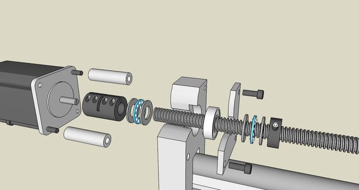 CNC Bearing Block Thrust Bearings