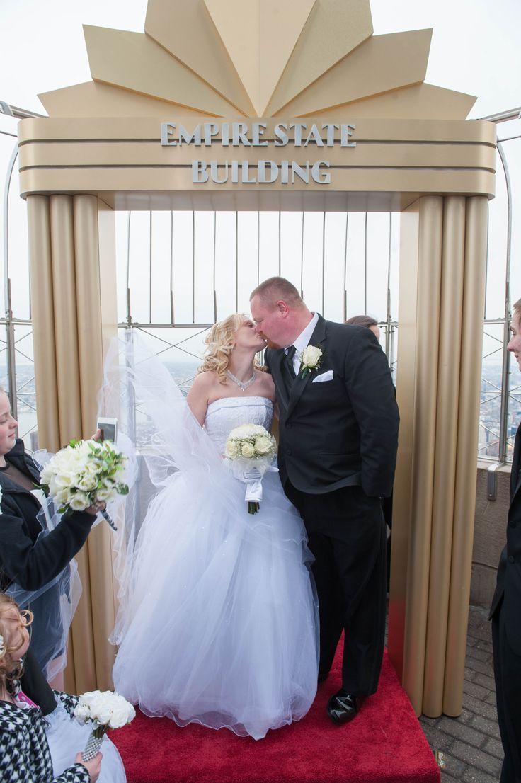 Nearly 100 S Married Or Renewed Their Vows On Our Floor Observatory With New York City As The Background