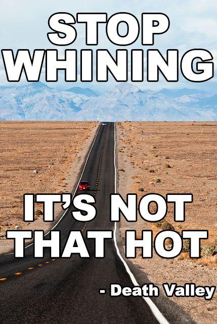 Running Meme Friday: From Death Valley
