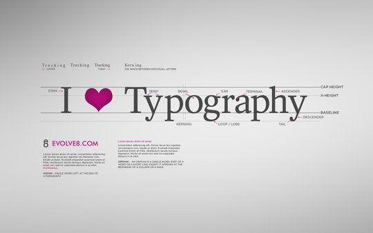50 fonds d'écran de splendides typographies sur http://www.marevueweb.com