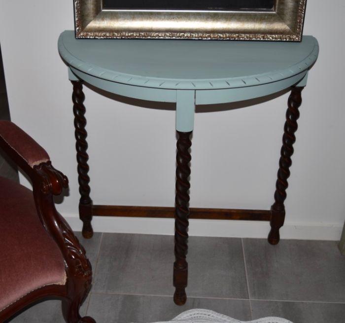 Vintage hall table - $75