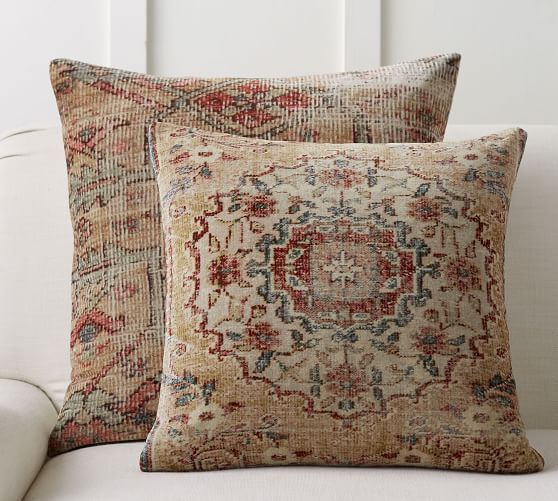 Abella Printed Pillow Covers Pottery Barn Pillows