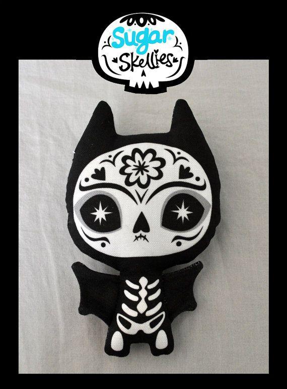 Sugar Skull bat $10